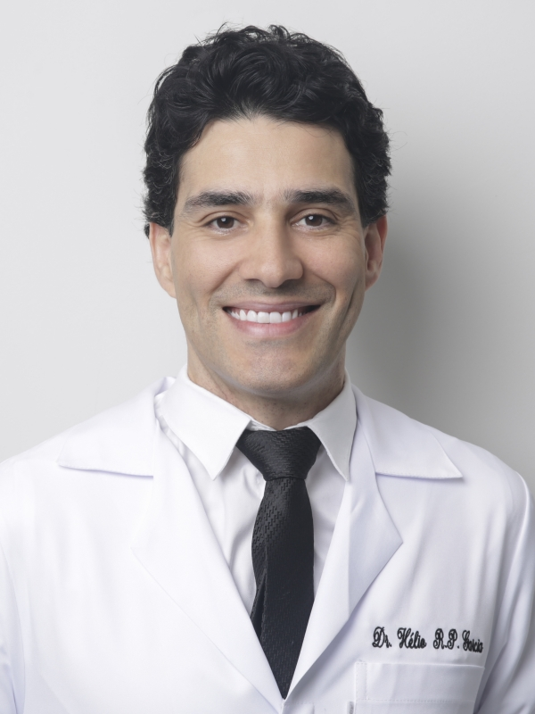 médico ortopedista diestro linear unit mãos